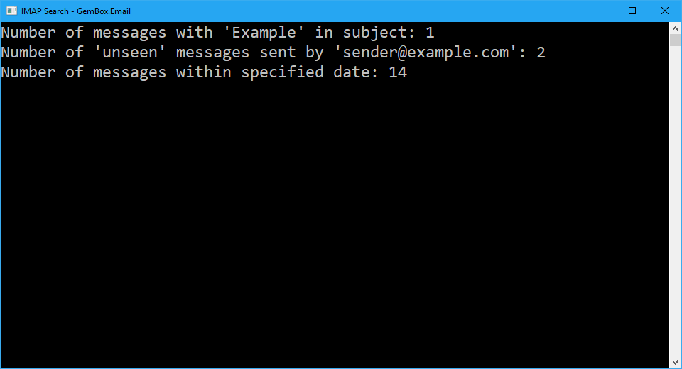 Email address collection validation from c# / vb. Net applications.