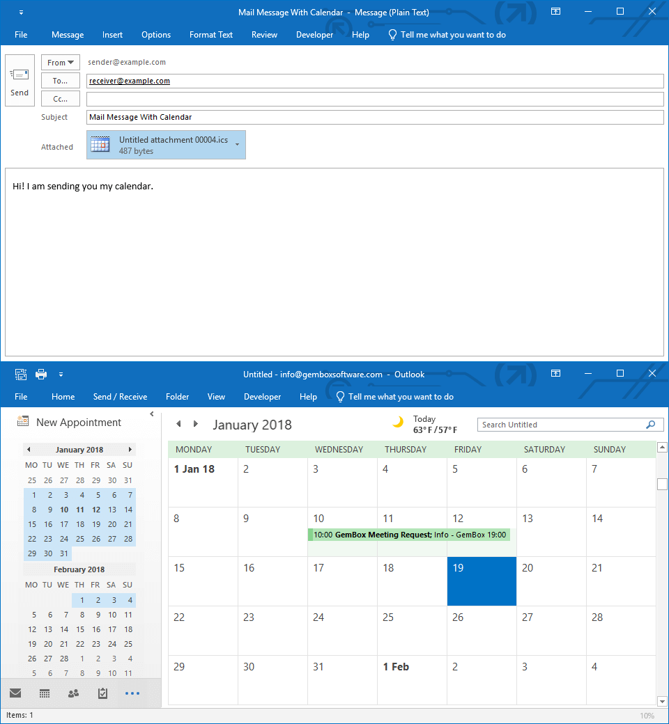 Adding a Calendar to Email in C# and VB.NET