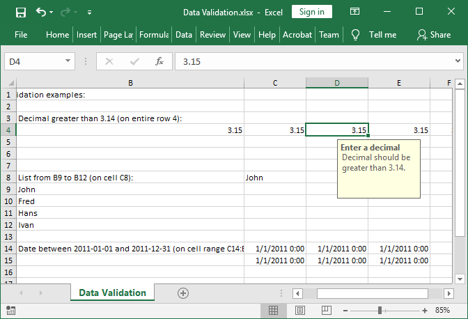 Excel data validation set with GemBox.Spreadsheet for Java