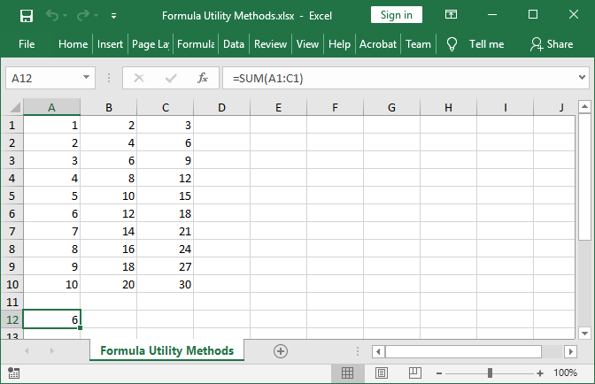 Excel cell formula set with GemBox.Spreadsheet for Java