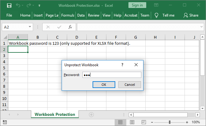 Excel workbook protected with GemBox.Spreadsheet for Java